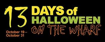13 days of halloween WHARF