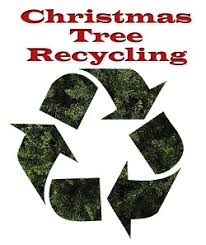 xmas tree recycling logo
