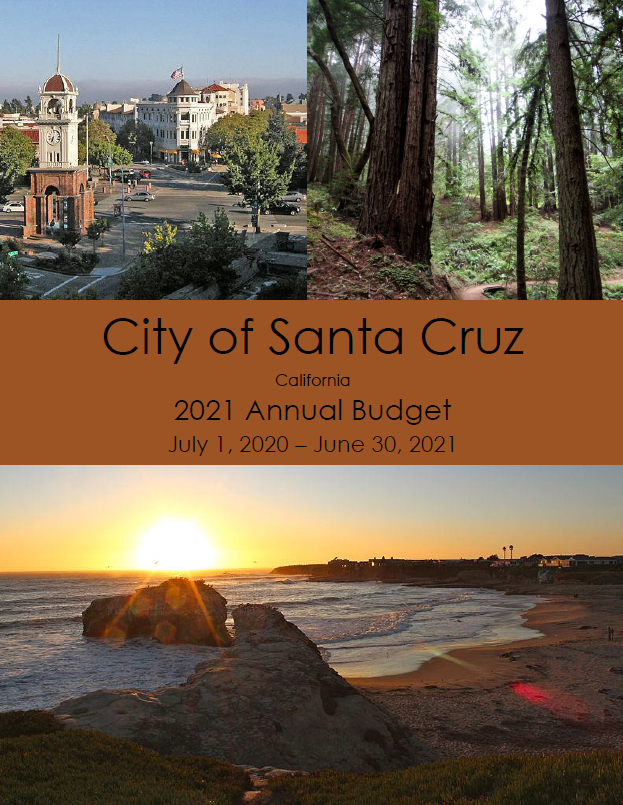 FY2021 Budget Cover