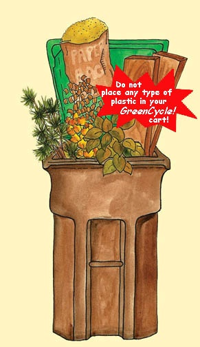 Green Cart Graphic