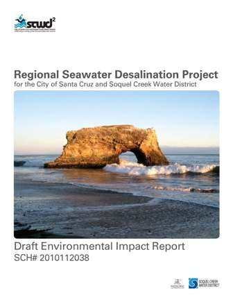 Draft EIR Regional Seawater Desalination Program