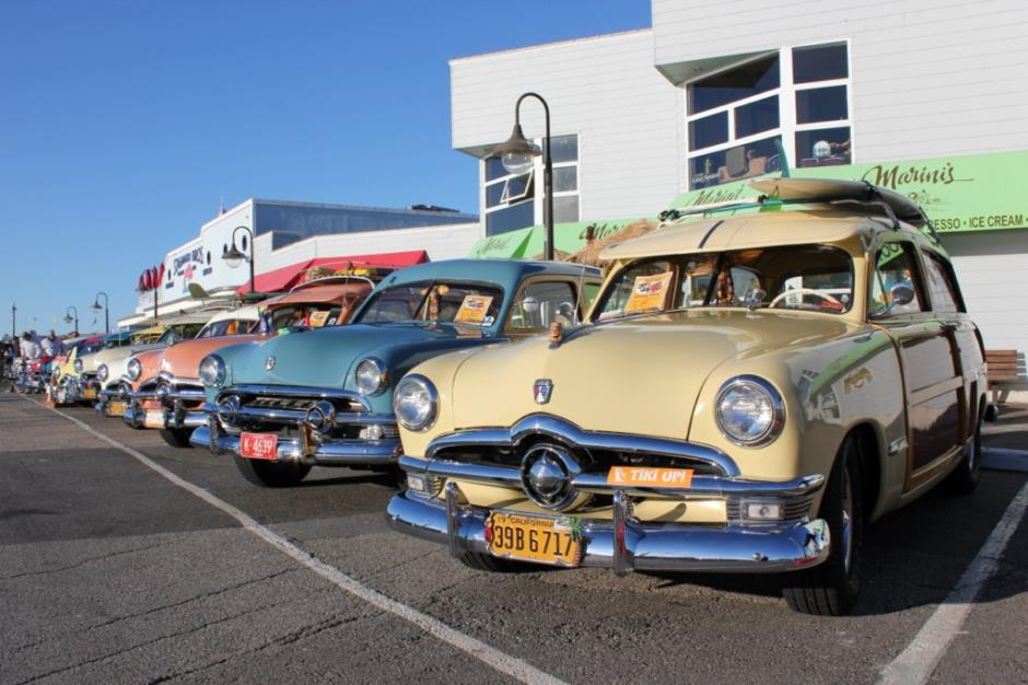 Woodies on the Wharf - Santa Cruz, CA