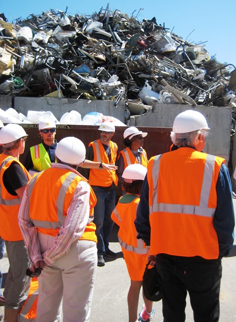 July '15 Recycling  Ctr public tour