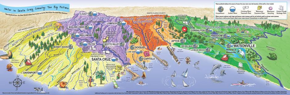 watershed city of santa cruz