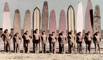 Santa Cruz Surf Club, 1941