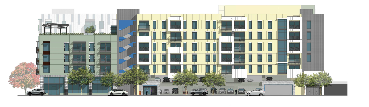 Front, Laurel, Pacific Project