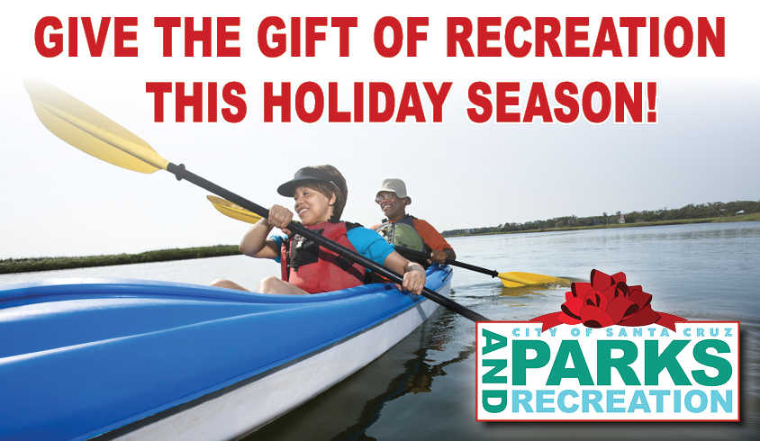 Parks and Recreation gift certificates