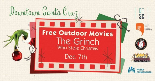 DTA movie Dec 7 - the Grinch
