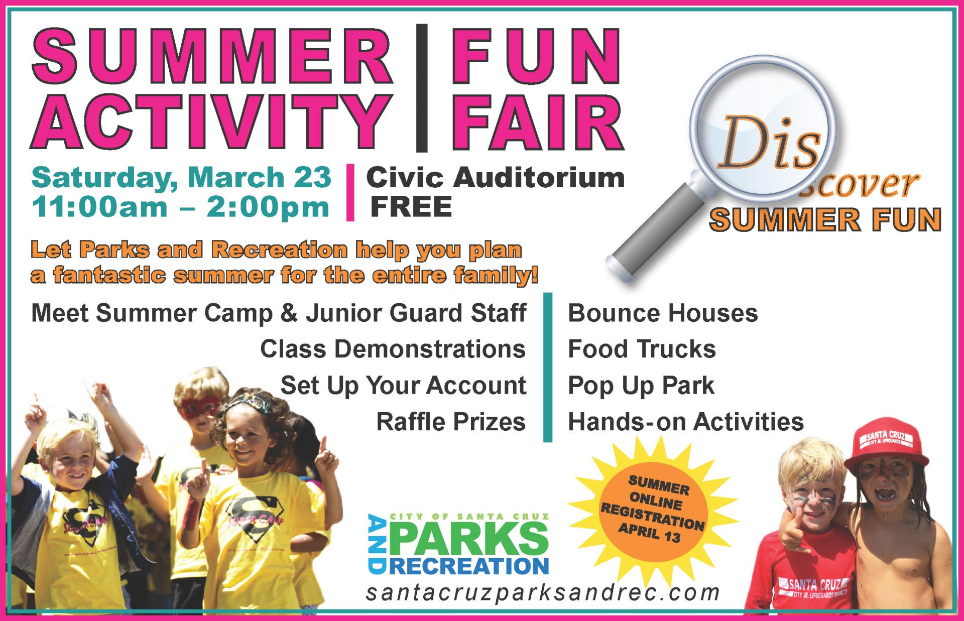 Summer Activity Fun Fair
