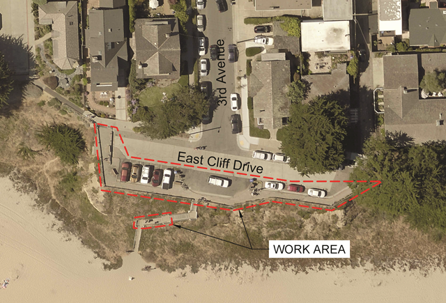 East Cliff & 3rd Avenue Storm Repair Project