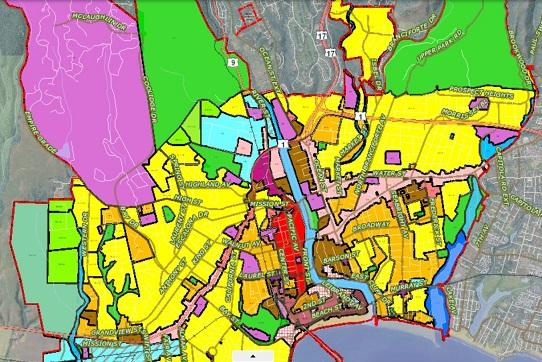 santa cruz zoning map Active Planning Applications And Status City Of Santa Cruz santa cruz zoning map