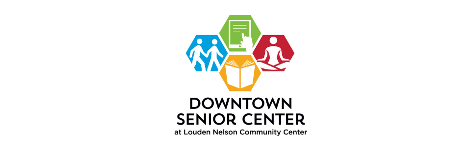 Downtown Senior Center Logo Banner