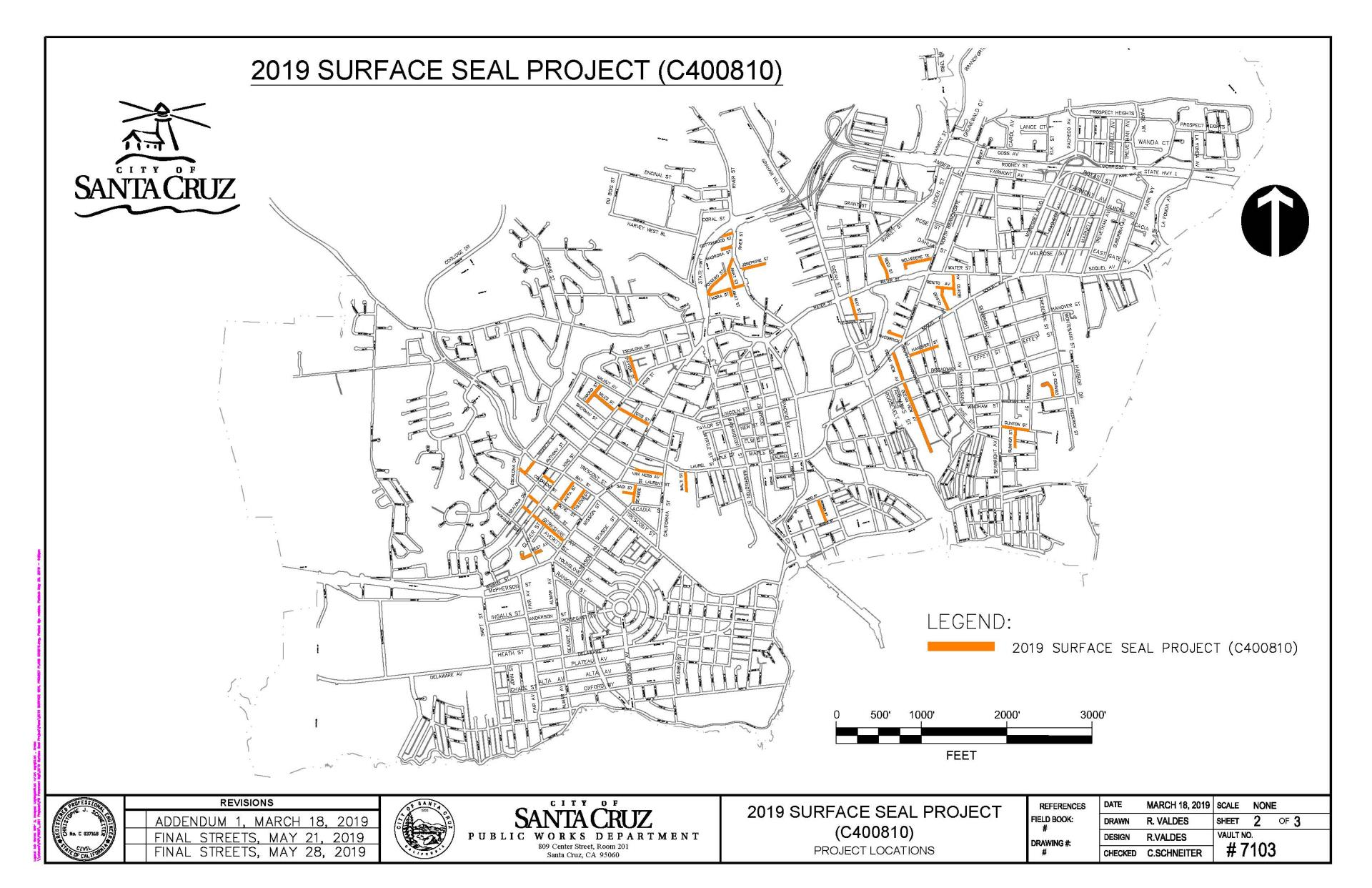 2019 Surface Seal Project Final Streets