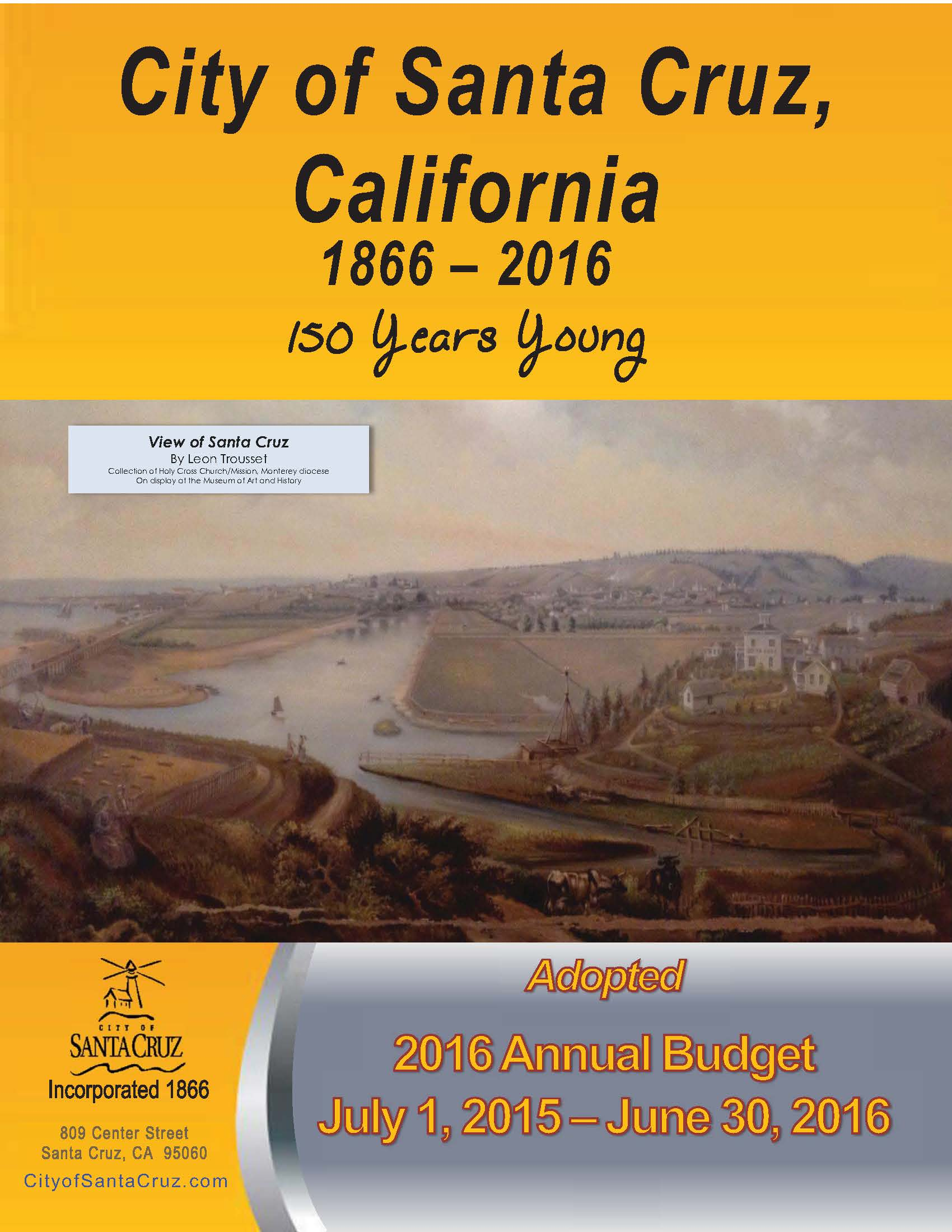 Budget Cover 2016