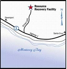 Resource Recovery Facility Map