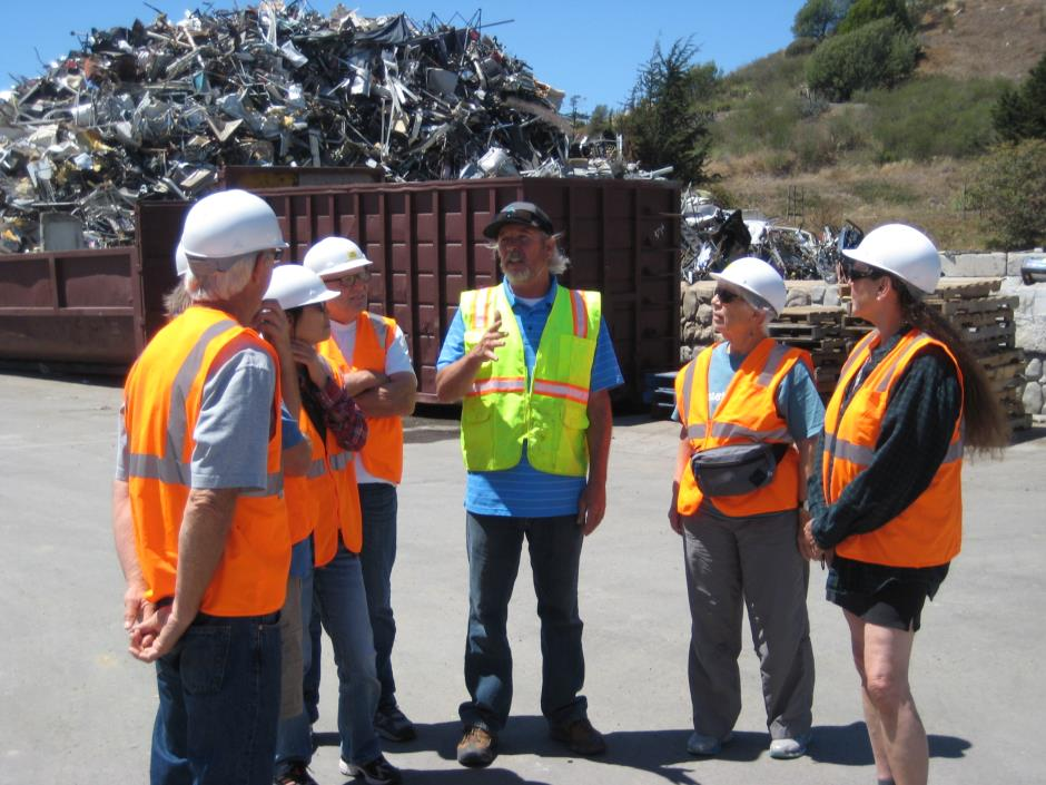 Recycling tour 2015