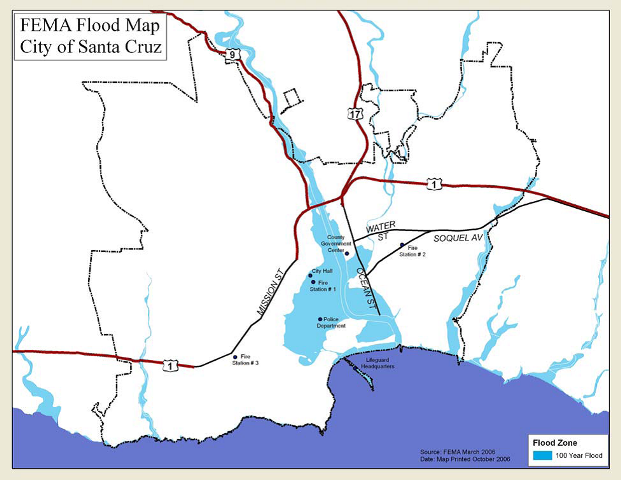 Fema SC flood map