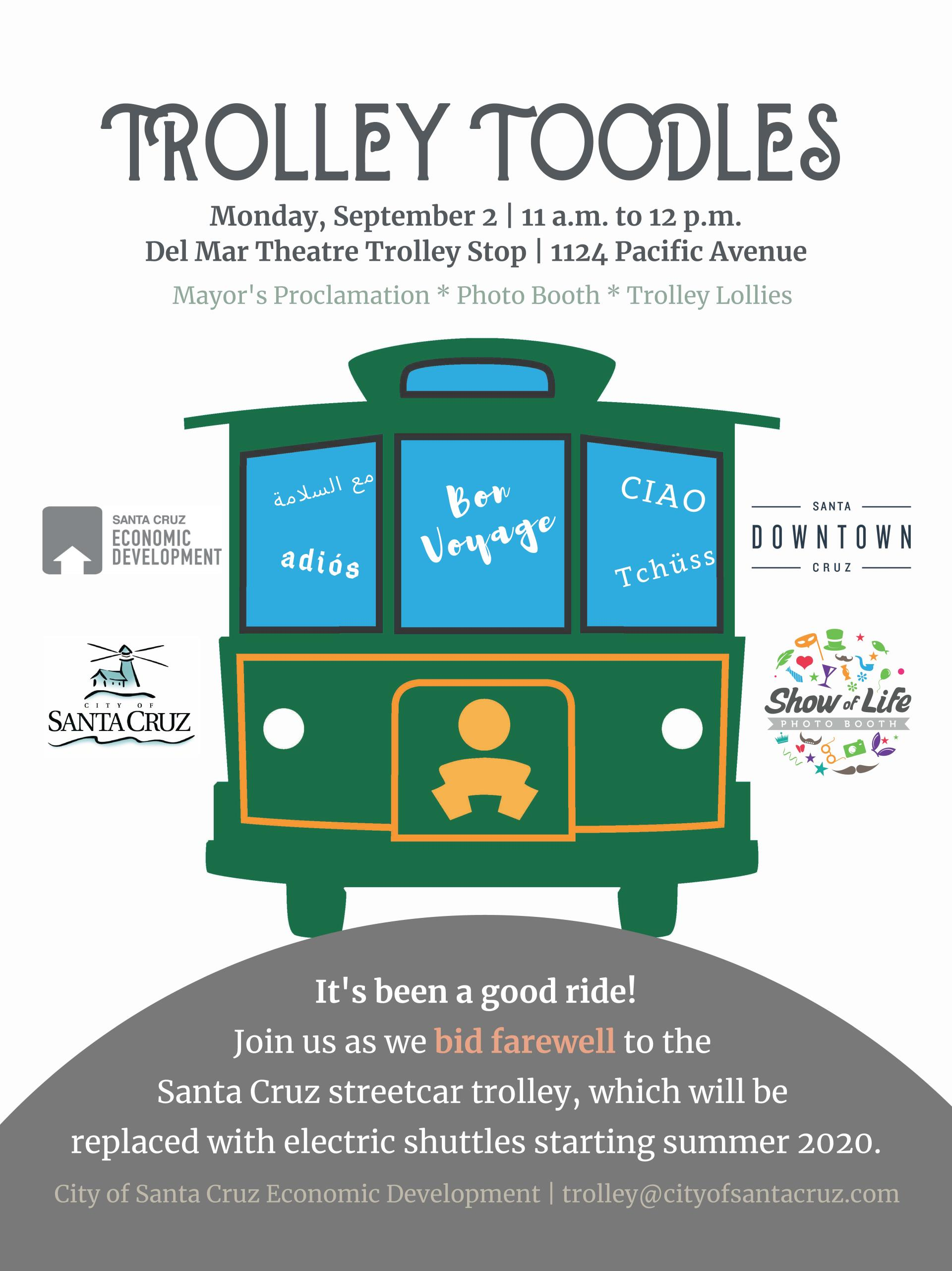 TROLLEY TOODLES POSTER